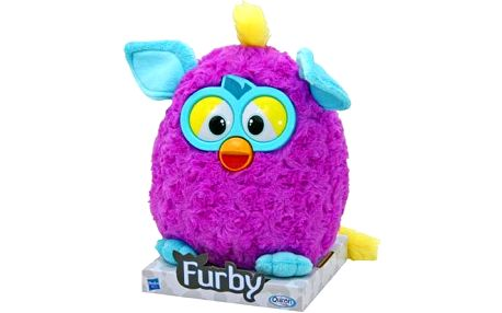 Furby Mohican plyšový, 20cm Paars
