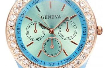 Silikonové hodinky Geneva v 11 atraktivních barvách - dodání do 2 dnů