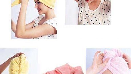 Ručníkový turban pro mokré vlasy - dodání do 2 dnů
