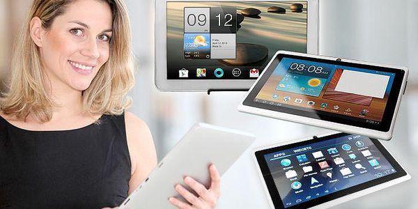 3 výkonné tablety s bohatou výbavou a operačním systémem Android do práce i do školy