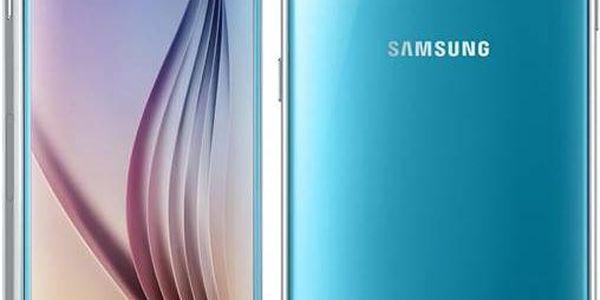 Samsung Galaxy S6 (G920) 64 GB (SM-G920FZBEETL) modrý + + dárek SAMSUNG KRYT CLEAR COVER AVENGERS pro GALAXY S6 (zdarma) + CASHBACK 4 000 Kč + Doprava zdarma