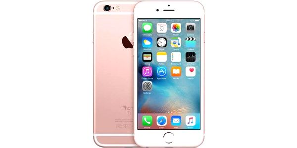 Apple iPhone 6s 128GB - Rose Gold (MKQW2CN/A) růžový + Doprava zdarma