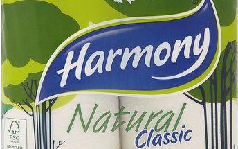 Harmony Classic toaletní papír - 2vrstvý 4 ks