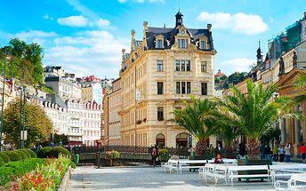 Karlovy Vary pro DVA na 3 a více dní s polopenzí