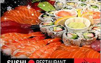 Velké vánoční SUSHI menu ve Zlíně až pro 4 osoby se slevou 54%! Udělejte radost sobě i nejbližším!