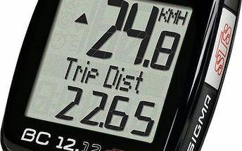 Sigma Sport BC 12.12 STS C3 černý