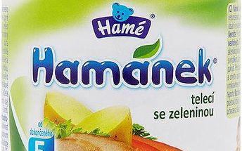 Hamánek Telecí se zeleninou 190 g