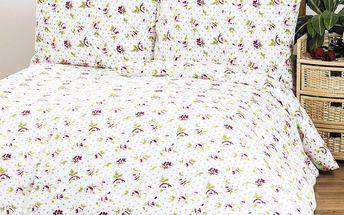 4Home bavlněné povlečení Rose, 140 x 220 cm, 70 x 90 cm
