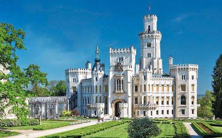 Relaxační pobyt pro dva + prohlídka zámku Hluboká