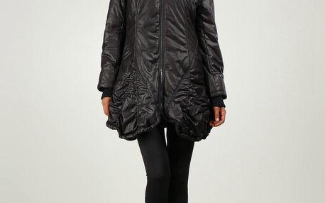Areline Dámský kabát M631 NOIR, 2 , Černá