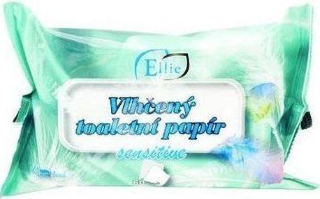 Q clean Ellie vlhčený toaletní papír - Sensitive 60 ks