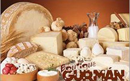 Akce pro gurmány a milovníky sýrů, vín, paštik, uzenin a dalších delikates v BOUTIQUE GURMÁN!