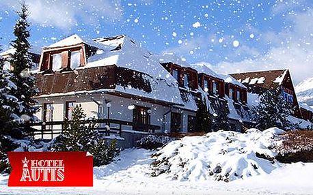 Hotel AUTIS *** zimní dovolená nebo Velikonoce 2016 pod štíty Tater