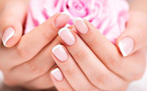Luxusní manikúra CND včetně keratinizace nehtů