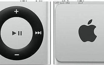 Apple iPod shuffle 2GB (MKMG2HC/A) stříbrný