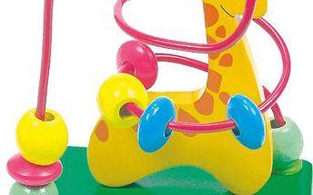 Bino Motorický labyrint - žirafa (690463)