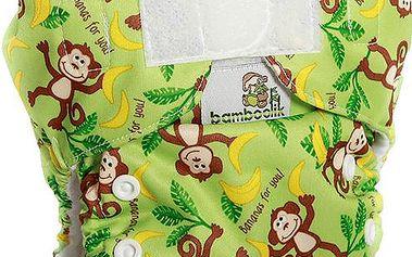 Bamboolik kalhotková plena opičky Stay Dry