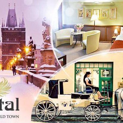 Praha na 3 dny pro 2 osoby v luxusním hotelu Haštal**** v historickém centru včetně snídaní, vína, kávy a čaje!