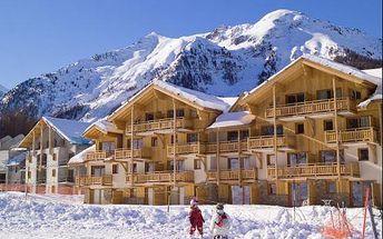Super lyžovačka ve Franc. Alpách na 10 dní! SKIPASY, apartmány. Doprava busem, nebo vlastní