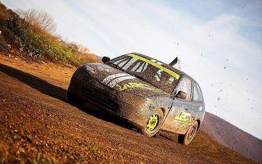 Nezapomenutelná rallycrossová jízda pod vedením zkušeného instruktora