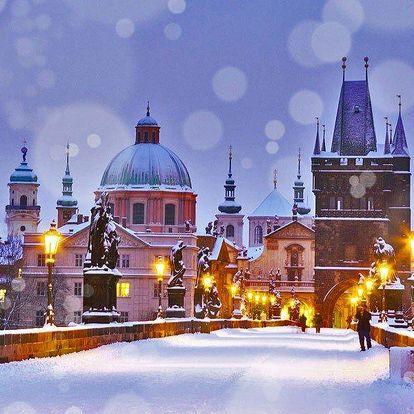 Zimní pobyt v centru Prahy s bohatou snídaní