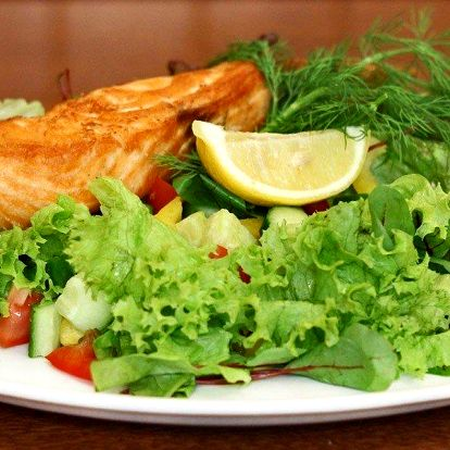 Speciality z norského lososa pro dva