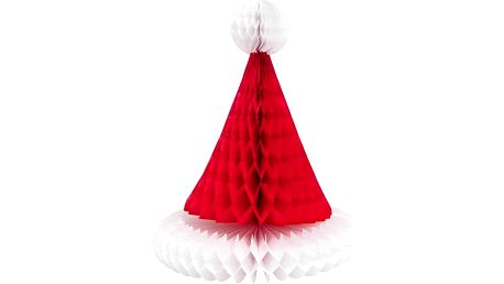 SANTA Dekorační papírová čepice