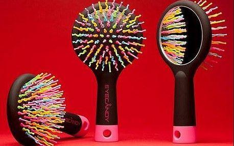 LIMITOVANÁ AKCE! Špičkový kartáč na vlasy se zrcadlem. Jiný už nebudete chtít!