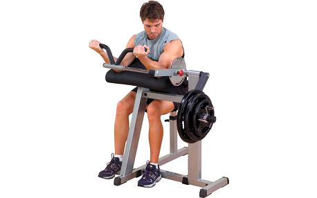 Posilovací lavice na biceps a triceps Body Solid GCBT380 + Doprava ZDARMA