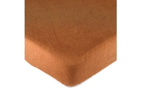 4Home jersey prostěradlo hnědá, 180 x 200 cm