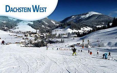 Lyžovačka se skipasem a ubytováním s polopenzí v Hotelu Der Abtenauer **** v rakouskem středisku Dachstein-West na 4 nebo 7 nocí již od 8 498Kč