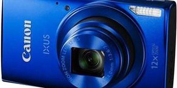 Canon IXUS 170 (0131C001AA) modrý + Doprava zdarma