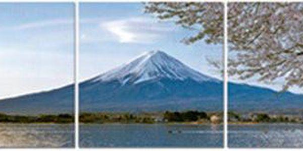 Obraz, sada 3ks (modrá hora)
