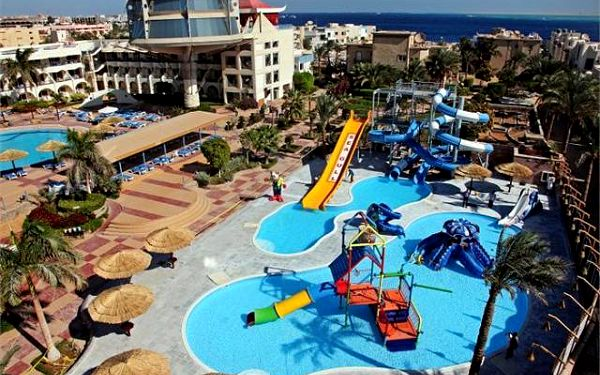 SEAGULL BEACH RESORT, Hurghada, Egypt, letecky, all inclusive