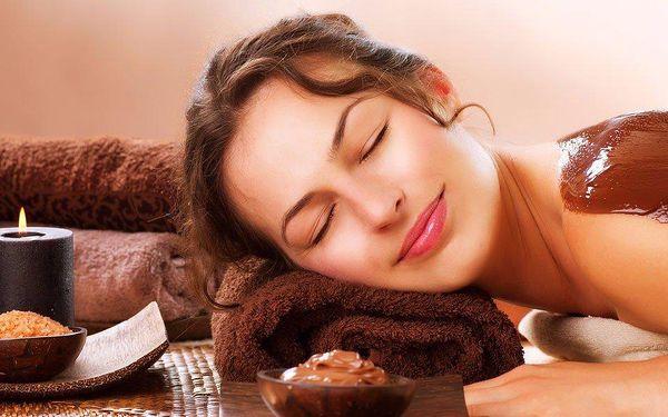 Čokoládový balíček kosmetické péče o pleť a tělo