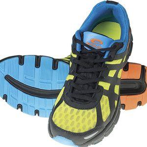 SPOKEY Liberate vel. 44 běžecké boty modro-zelené