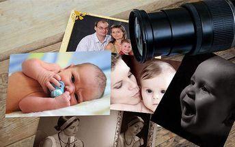 Portrétní focení dětí, rodinné foto nebo focení 2 až 4 osob ve fotostudiu Ren v Praze