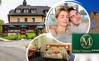 Wellness pobyt pro dvě osoby v luxusním Golf hotelu Morris**** s polopenzí a spoustou procedur!!