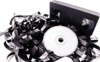 Přepis záznamu z kazet na DVD
