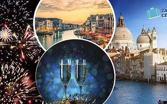 Benátky - zažijte nejromantičtějšího Silvestra roku 2015! Silvestrovský zájezd do Benátek pro 1 osobu v termínu 30.12.-1.1.2016! Prohlédnete si nejkrásnější světové památky, užijete si i individuální volno a zhlédnete famózní ohňostroj na Náměstí Sv. Marc