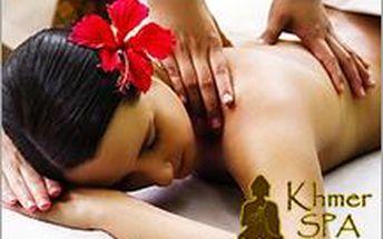 Jedinečná De Luxe aroma olejová masáž celého těla v Khmer Spa Zlín + ochutnávka čajů z jihovýchodní Asie.