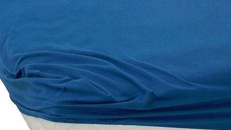 BedTex jersey prostěradlo tmavě modrá