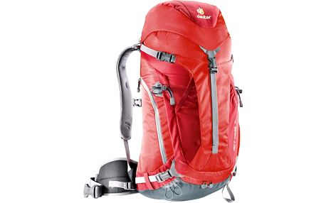 DEUTER ACT Trail 32 fire-cranberry turistický batoh