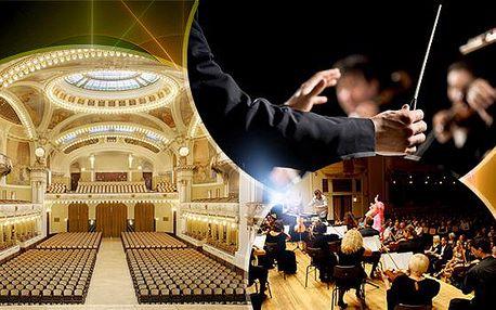 Koncert Bohemian Symphony Orchestra Prague - Mozart, Smetana, Dvořák ve Smetanově síni Obecního domu v Praze!