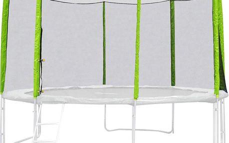 Ochranná síť pro trampolínu inSPORTline Froggy PRO 430 cm zelená