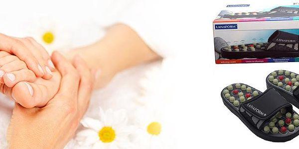 Masážní pantofle na reflexní masáž Foot Reflex