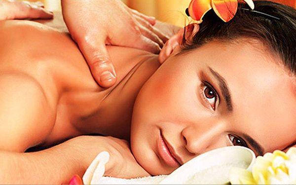 Relaxační masáže v beauty studiu Oliva