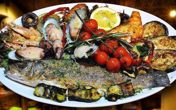 Jadranský záliv v Singidunum - menu pro 2-3 osoby