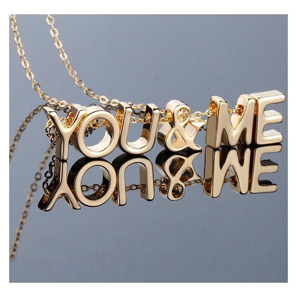 Poskládej si svůj šperk s přívěsky Letters - VÝPRODEJ