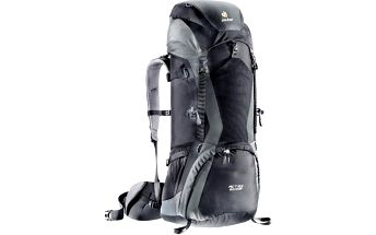 DEUTER ACT Lite 40 + 10 black-granite turistický batoh